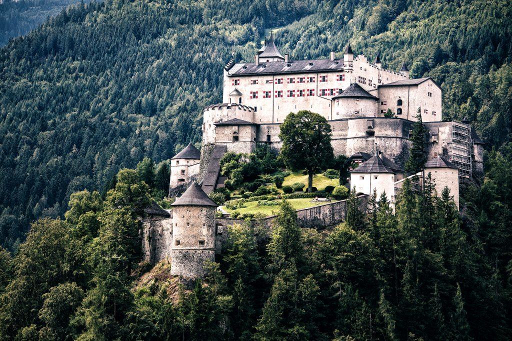 Burg Hohenwerfen, Salbzurg